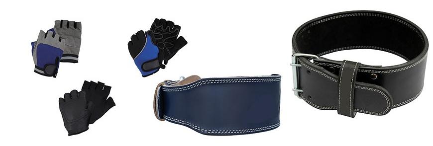 Gants et ceintures musculation