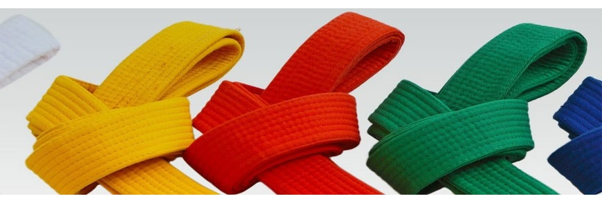 Ceintures judo